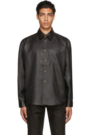 OUR LEGACY Men Shirts - Silk Dyed Coco Shirt