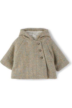 BONPOINT Jackets - Baby Virgin Wool Tweed Boniface Jacket