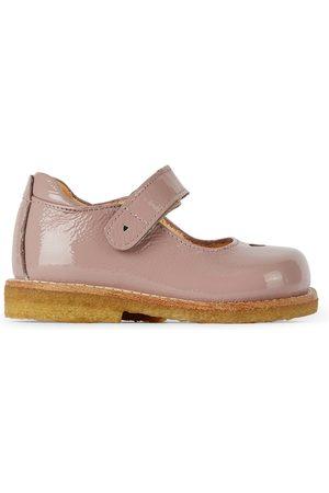 ANGULUS Flat Shoes - Kids Patent Heart Mary Jane Flats