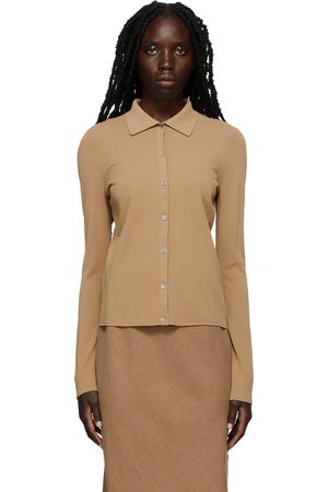 Vince Women Cardigans - Seamless Buttoned Cardigan