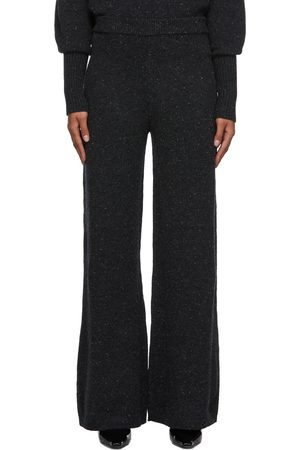 Joseph Women Wide Leg Pants - Tweed Knit Wide Leg Lounge Pants