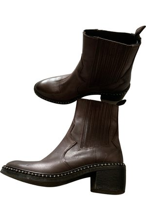Maliparmi Leather ankle boots