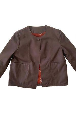 s.w.o.r.d 6.6.44 Women Gilets - Leather short vest