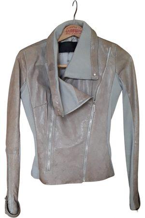 Elisabetta Franchi Leather biker jacket