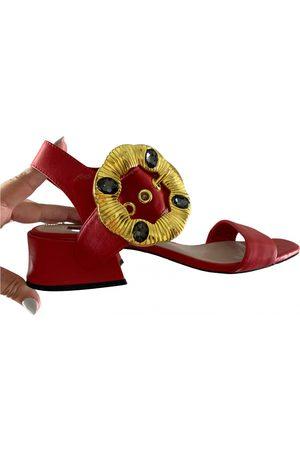 UTERQUE Leather sandals