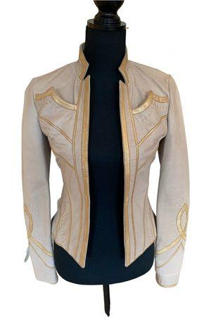 Roberto Cavalli Leather suit jacket