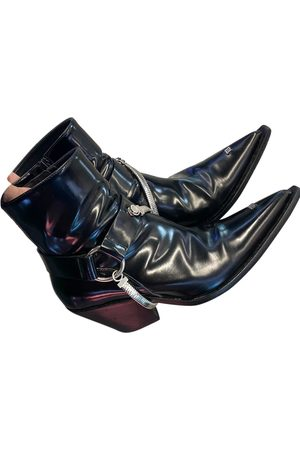 MISBHV Leather western boots