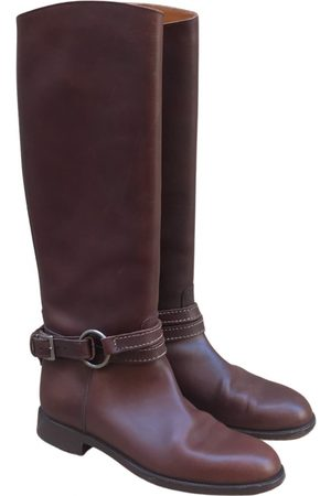 Ralph Lauren Leather western boots