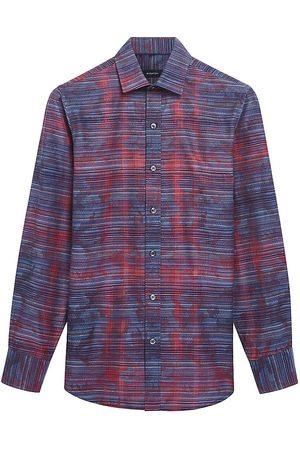 Bugatchi Woven Long-Sleeve Shirt