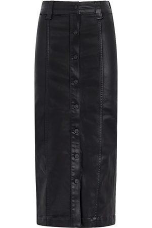 Hudson Faux Leather Pencil Skirt