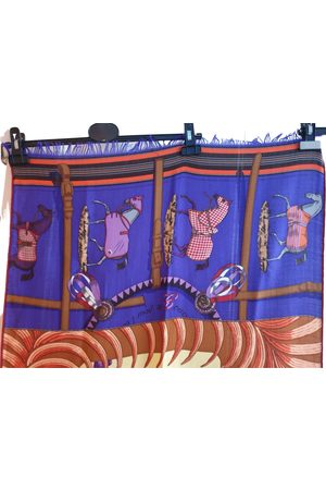 Hermès Châle 140 cashmere scarf