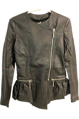 THOMAS WYLDE Leather biker jacket