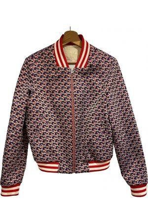 Maje Silk biker jacket