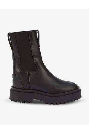 THE Kooples Platform leather Chelsea boots