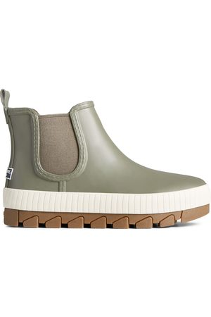 Sperry Top-Sider Women's Sperry Torrent Chelsea Rain Boot Olive, Size 5M