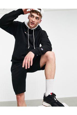 Champion Men Hoodies - Double hooded logo hoodie in