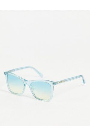 Moschino Love square lens sunglasses