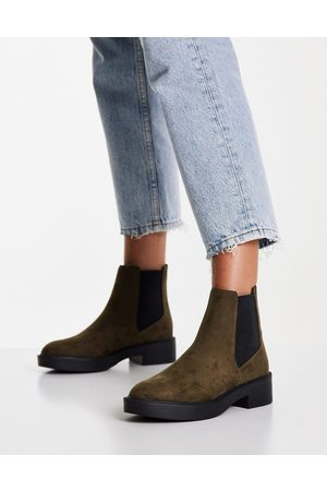 ASOS Women Chelsea Boots - Alford chelsea boots in khaki