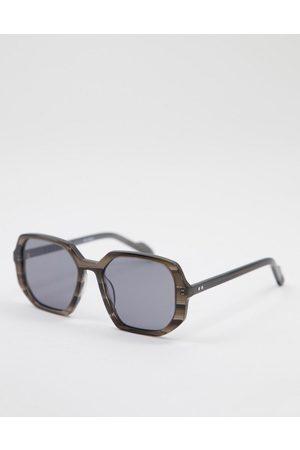 Spitfire Women Square - Spitifre Cut Twenty Nine womens square sunglasses in marble-Grey