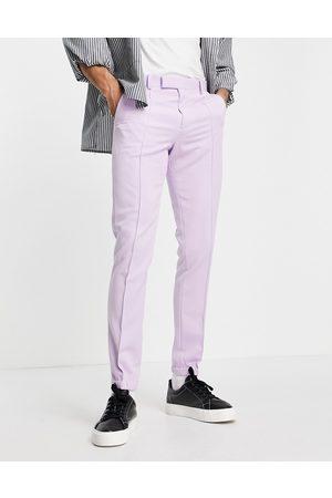 ASOS Men Skinny Pants - Skinny smart pants in lilac
