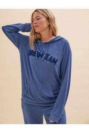 Marks & Spencer Women Pajamas - Cosy Knit Dream Team Lounge Pyjama Set