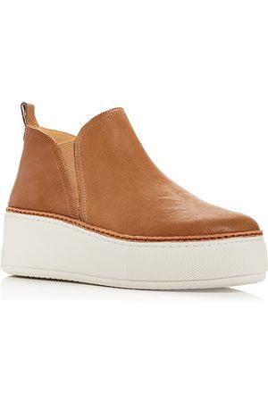 JSLIDES Women Platform Sneakers - Women's Mika Platform Slip On Sneakers