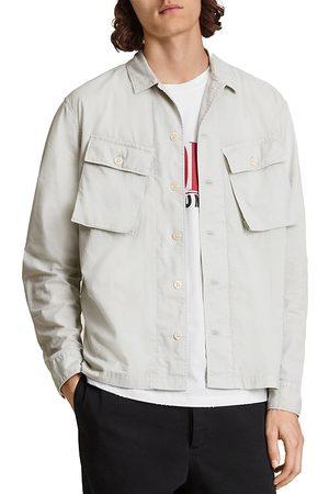 AllSaints Men Shirts - Strathmoor Cotton Utility Shirt