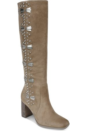 Sam Edelman Women Thigh High Boots - Women's Oma Beaded Tall Boots