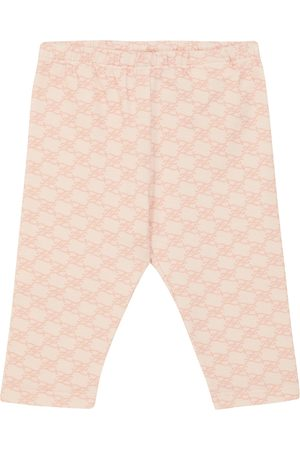 Fendi Baby FF Karligraphy cotton leggings