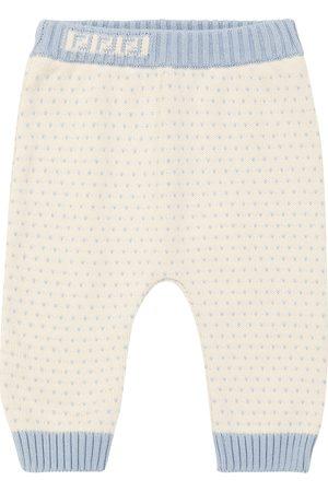 Fendi Baby jacquard cotton-blend sweatpants