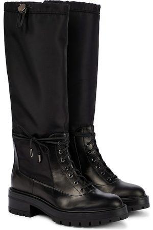 Aquazzura Women Thigh High Boots - Rain Boot 45 knee-high leather boots