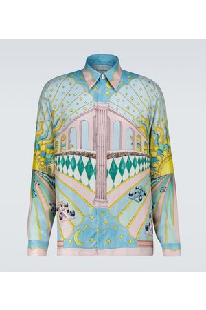 Casablanca Printed silk shirt