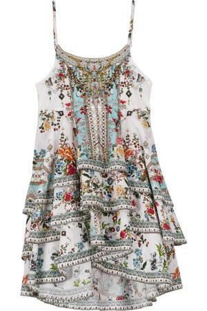Camilla Baby Printed Dresses - Printed cotton ruffle dress
