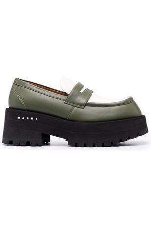 Marni Women Platforms - Two-tone platform loafers