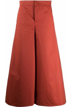 Marni Wide-leg mid-rise trousers