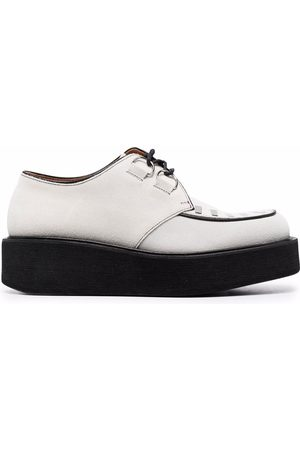 Marni Two-tone lace-up shoes - Grey
