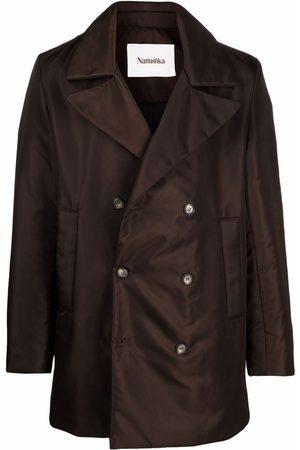 Nanushka Double-breasted fitted coat