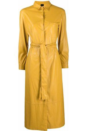 Pinko Women Casual Dresses - Belted midi shirtdress