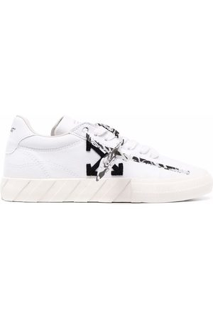 OFF-WHITE Women Sneakers - LOW VULCANIZED ECO CANVAS BLACK