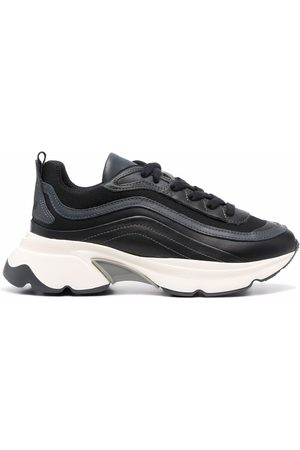 Msgm Women Sneakers - Panelled chunky sneakers