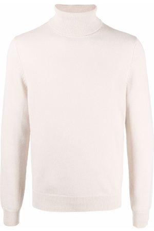 Malo Roll-neck cashmere jumper - Neutrals