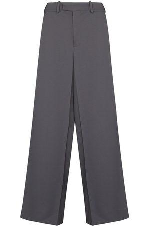 OFF-WHITE Drill slim box trousers - Grey