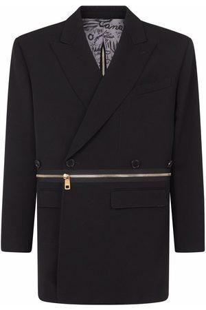 Dolce & Gabbana Oversized zip-around wool blazer