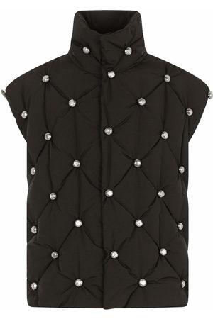 Dolce & Gabbana Stud-embellished padded jacket