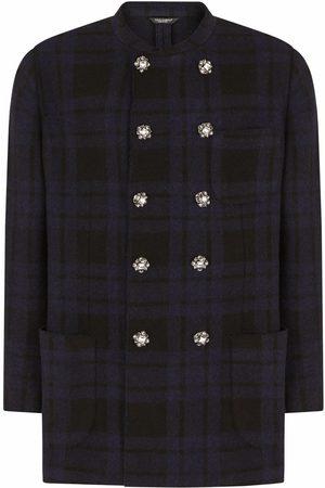 Dolce & Gabbana Double-breasted check blazer