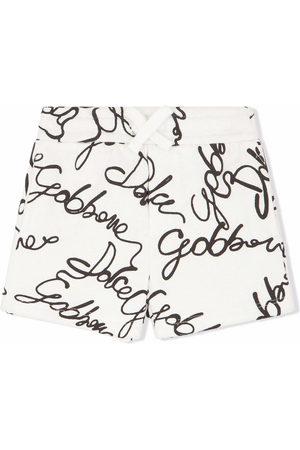 Dolce & Gabbana All-over logo print shorts
