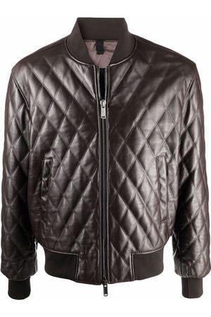 TAGLIATORE Bostonasi quilted leather jacket