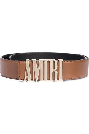 AMIRI Men Belts - Logo-buckle leather belt