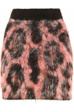 Dolce & Gabbana Women Printed Skirts - High-waisted leopard print skirt