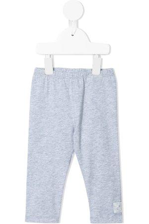 Fendi Baby Leggings - FF logo-patch leggings - Grey